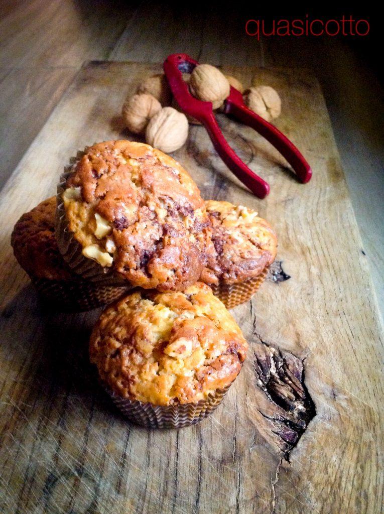 Muffins con noci