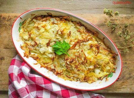 Verza e patate stufate in forno