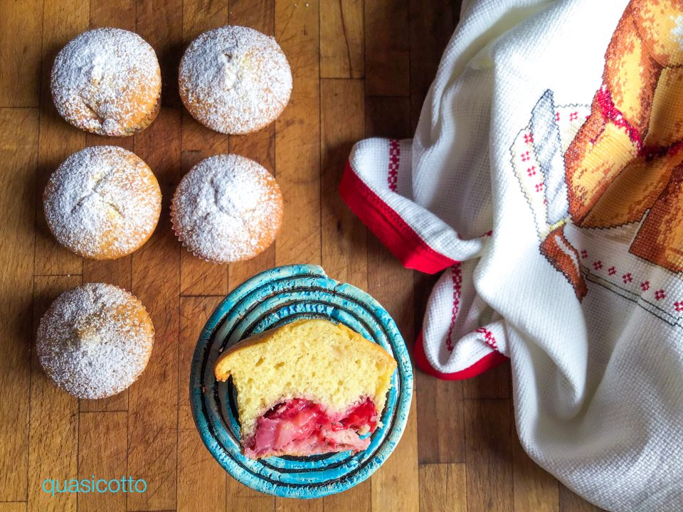 Muffins alle fragole ricetta semplice