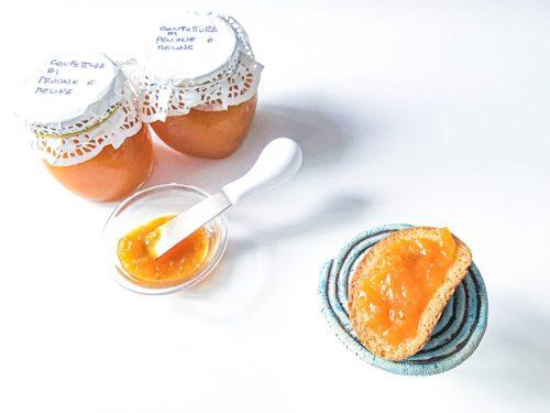 Confettura di prugne e melone fatta in casa