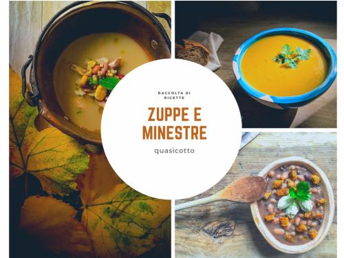 Zuppe e minestre una raccolta di ricette
