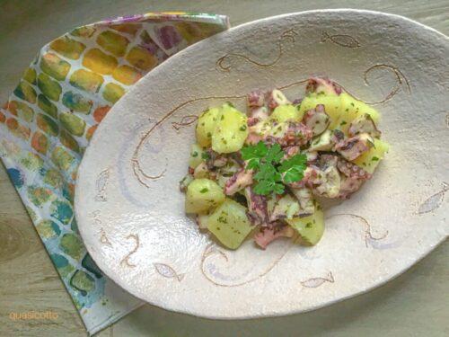 Polpo e patate in insalata ricetta veloce
