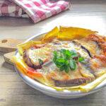 Lasagne con le melanzane senza besciamella