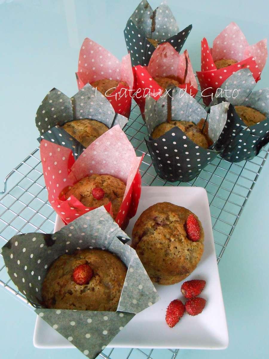 Muffin con fragoline di bosco 3