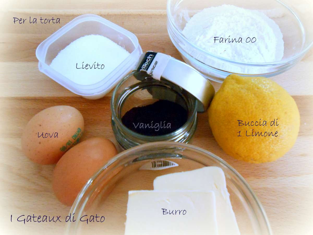 crumble cake Ingredienti 2