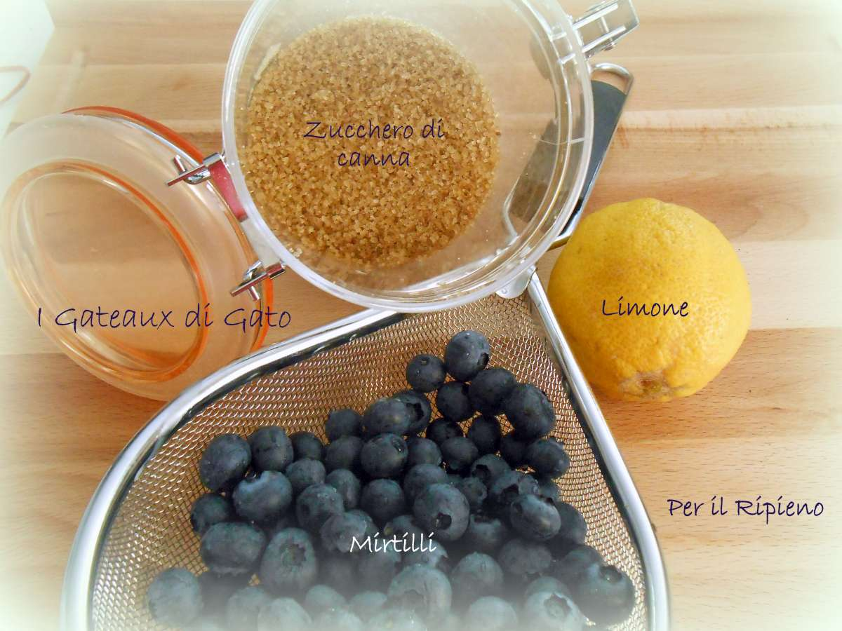 crumble cake Ingredienti 3