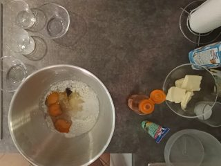 preparazione pan brioche