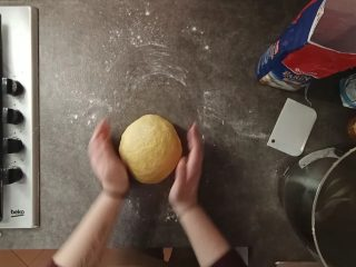 lavorazione impasto pan brioche