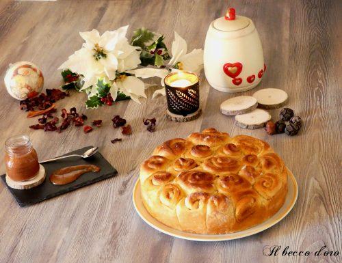 Torta di rose senza burro, con marmellata fatta in casa