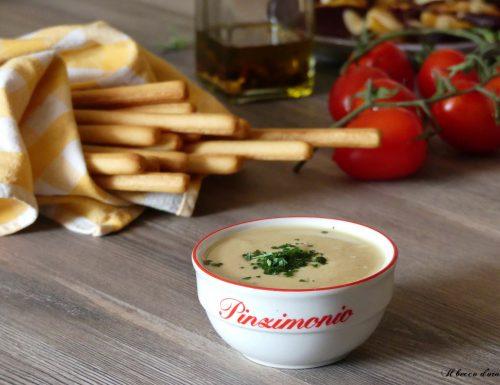 Salsa con yogurt e senape per pinzimoni e insalate