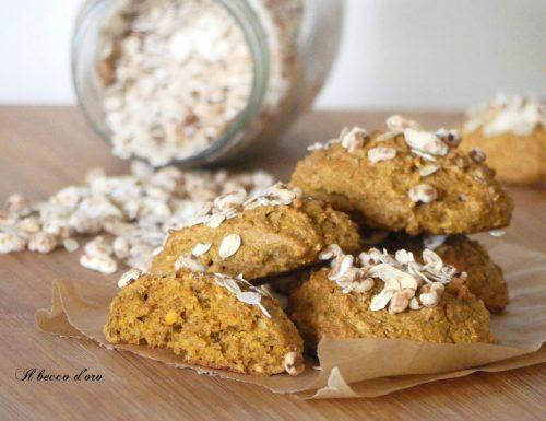 Biscottoni integrali con mandorle e carote senza burro