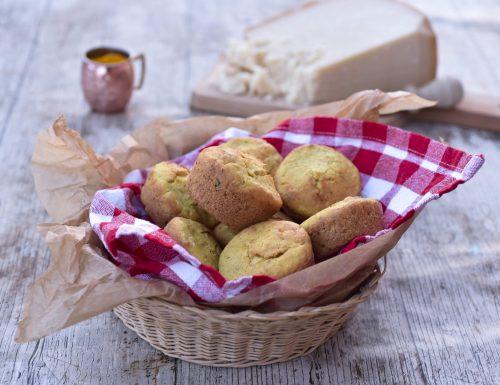 Muffin salati senza uova