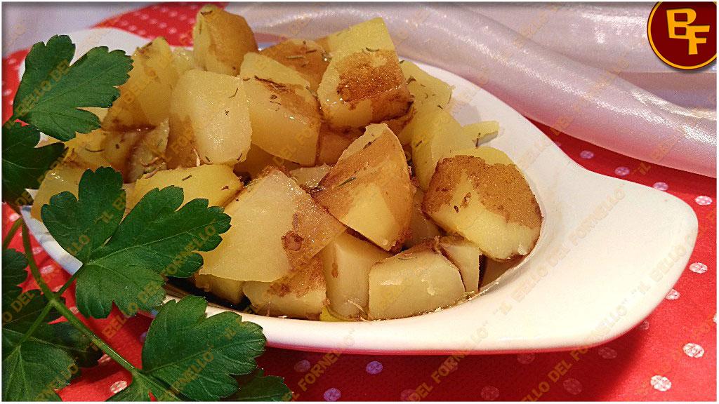 Contorno di patate con salsa di soia