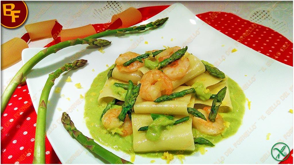 Paccheri asparagi e gamberetti