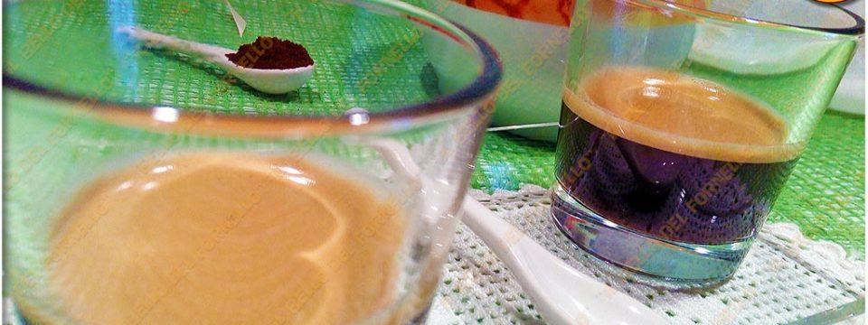 Caffè con schiuma come al bar
