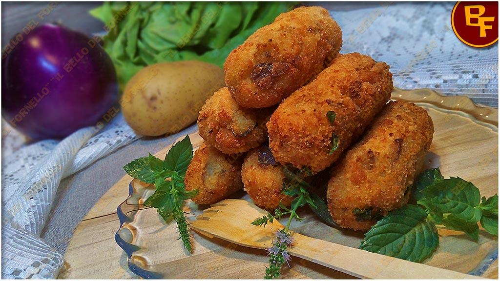 Crocchette di melanzane patate e ricotta 02