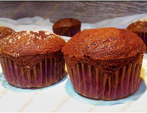 Muffin con succo di frutta e cacao