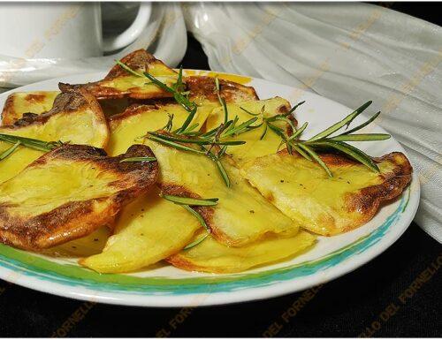 Chips di patate aromatizzate al forno