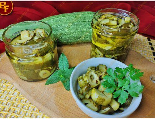 Zucchine sott'olio – ricetta facile
