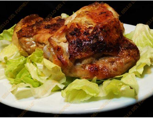 Pollo con patè di olive in friggitrice ad aria
