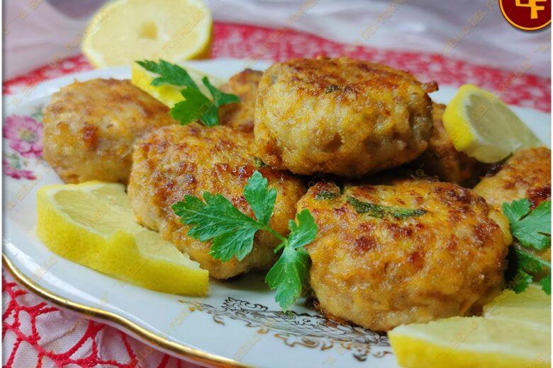 Polpette di pollo e patate a limone
