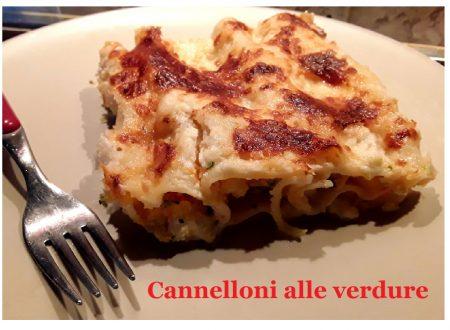 Cannelloni alle verdure  Anche versione vegana