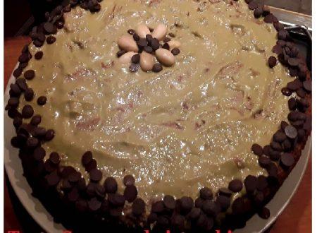 Torta Caprese al pistacchio