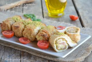 Involtini di pollo e pistacchio facili e veloci