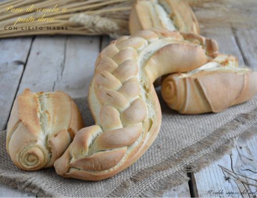 Pane di semola a pasta dura con lievito madre