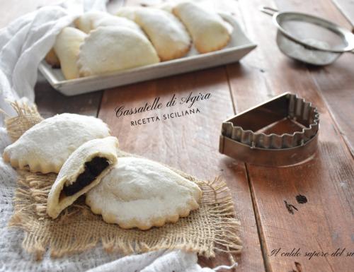 Cassatelle di Agira ricetta originale siciliana