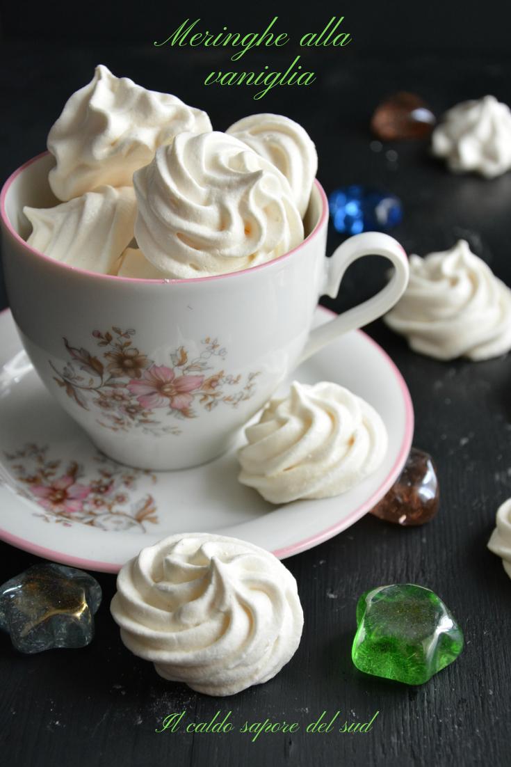 Meringhe alla vaniglia