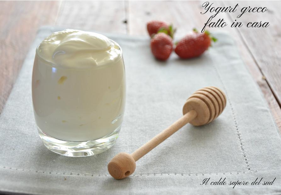 Ricetta Yogurt Greco Fatto In Casa.Yogurt Greco Fatto In Casa Blog Di Il Caldo Sapore Del Sud