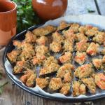 Cozze gratinate con pomodoro al forno