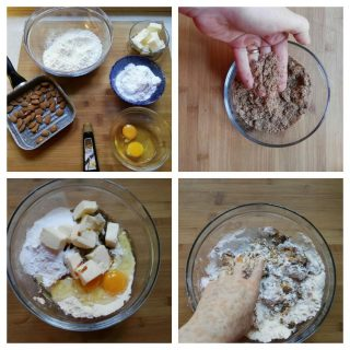 Pasta frolla con mandorle tostate