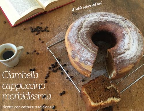 Ciambella cappuccino cottura nel fornetto Versilia