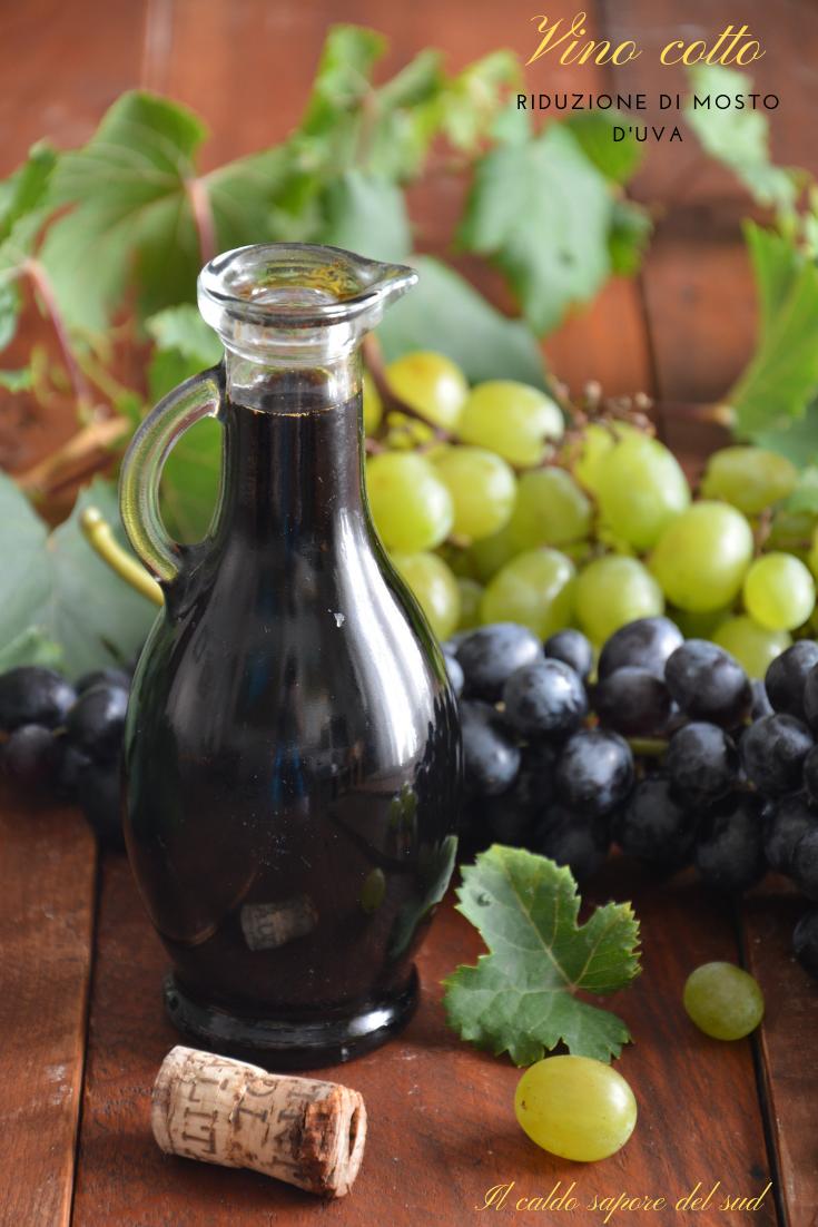 Vino cotto Riduzione di mosto d'uva