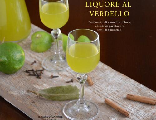 Liquore al verdello speziato