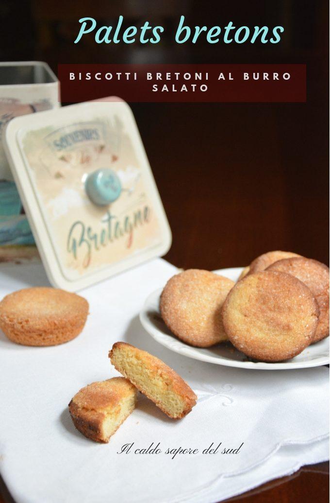 Palets Breton Biscotti bretoni al burro salato