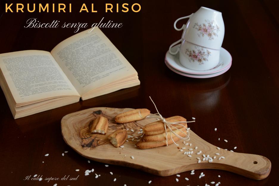 Biscotti di riso di Montersino senza glutine Krumiri
