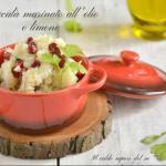 Filetti di baccalà marinati all'olio e limone