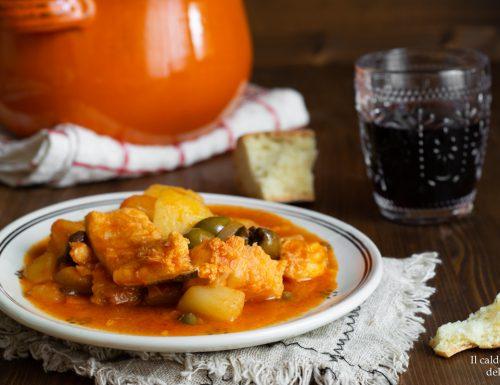 Baccalà a ghiotta ricetta catanese