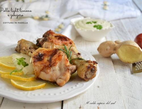 Pollo light limone e zenzero
