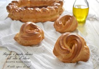 Bignè e pasta choux all'olio d'oliva