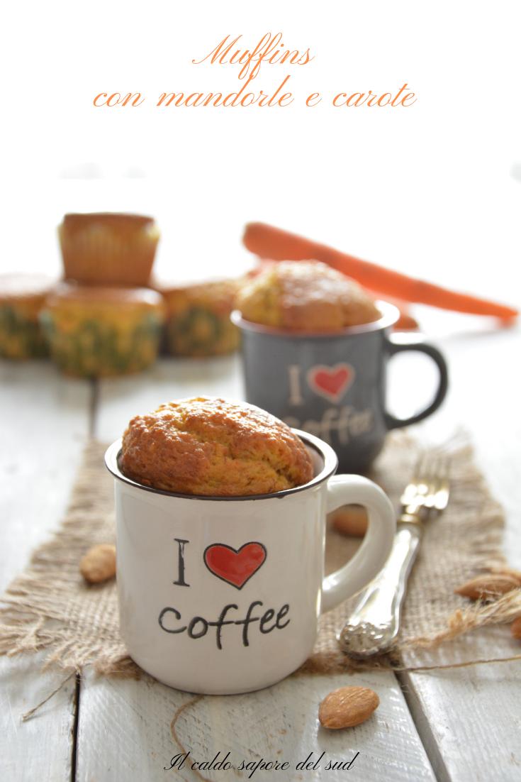 muffins con mandorle e carote