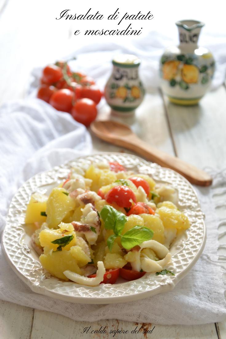 Insalata di patate e moscardini