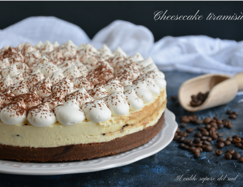 Cheesecake tiramisù ricetta facile
