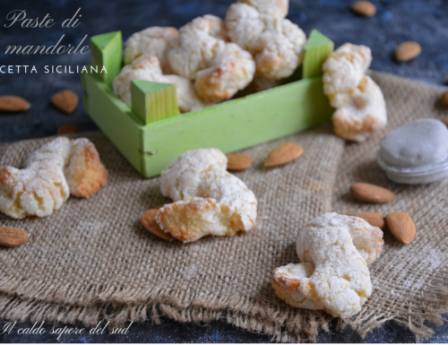 Paste di Mandorla ricetta siciliana