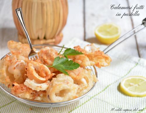 Calamari fritti in pastella croccanti