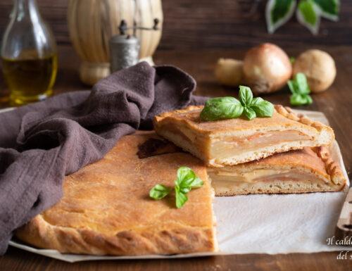 Scacciata di patate ricetta tradizionale