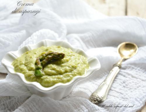 Crema di asparagi ricetta facile e veloce